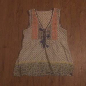House of Harrlow Quilted Tank Top
